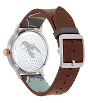 Ted Baker Cosmop Embossed Brown Watch