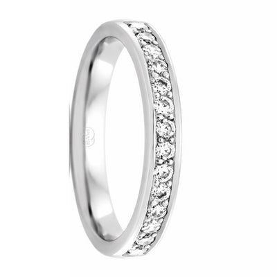 Ida Women's Diamond Wedding Ring