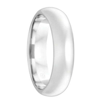 The Bellini Men's White Gold Wedding Ring (Ultra Deluxe Thickness)