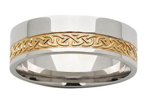 gold mens rings