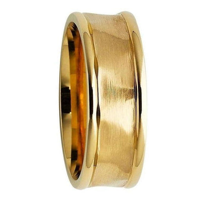 Mens Gold Wedding Rings