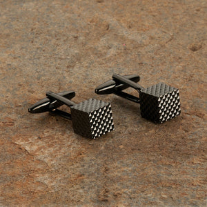 Edged Square Cufflinks