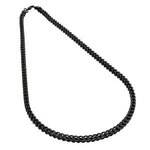 Mens Black Chain