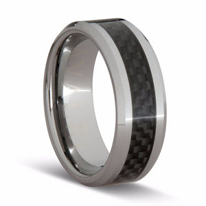 Tungsten Carbon Fibre Ring