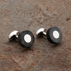 Circular Edged Cufflinks
