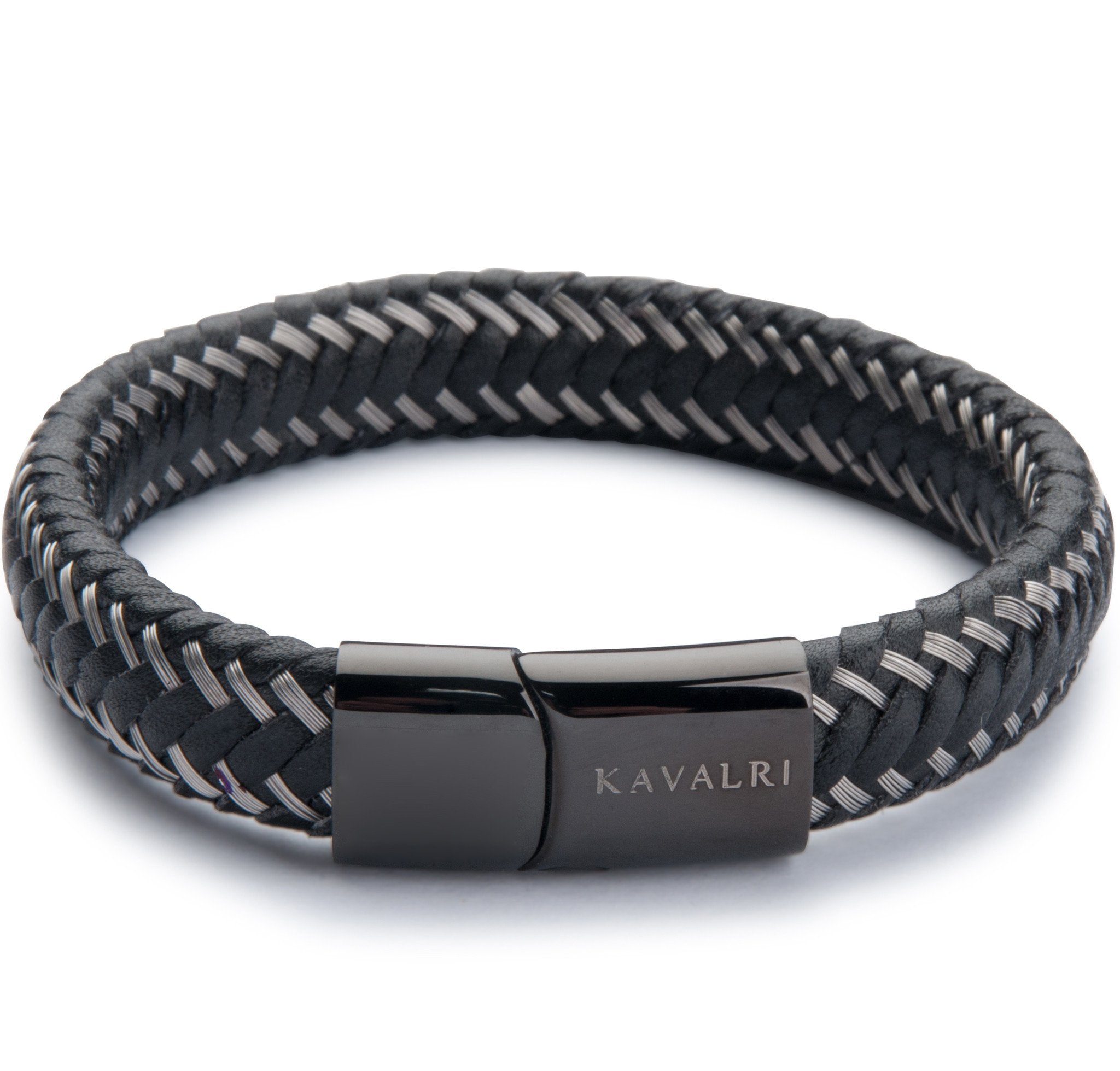 includes bracelets s img bangles mariners st black bangle clasp bracelet mens leather braided mariner shop stainless