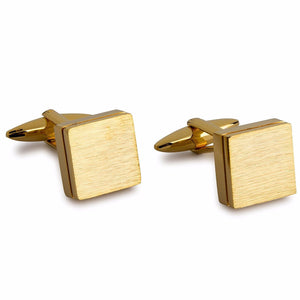 Mens Gold Cufflinks