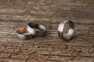 Tantalum Wedding Rings