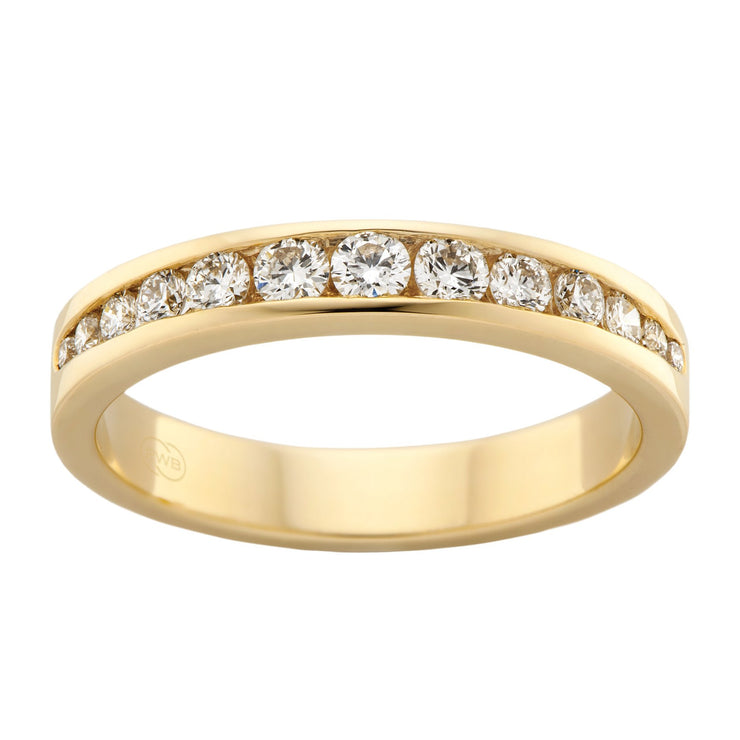 Jasmine Women's Diamond Wedding Ring