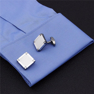 Box Chrome Cufflinks
