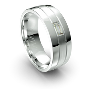 Diamond Mens Wedding Rings