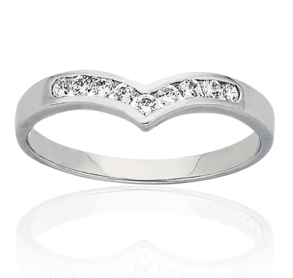 White Gold Womens Ring