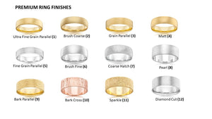 The High Half Round Men's Yellow Gold Wedding Ring - Comfort Fit