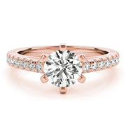 Venus Diamond Engagement Ring Setting