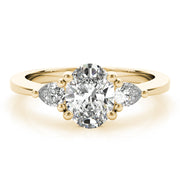 Arete Diamond Engagement Ring Setting