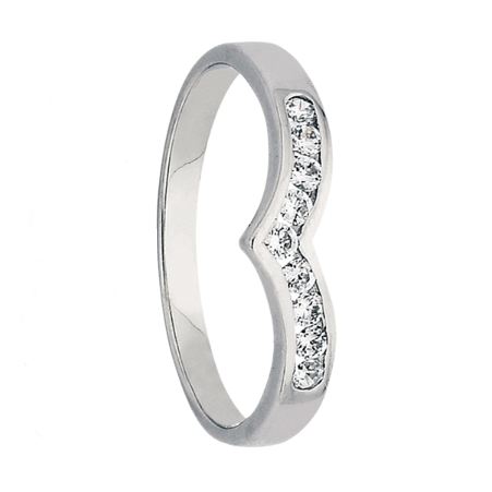 White Gold Womens Diamond Ring