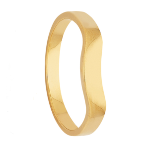 Yellow Gold Ladies Wedding Ring