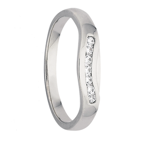 Womens White Gold Wedding Ring