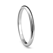 Classic Smooth 2 mm Tungten Ring