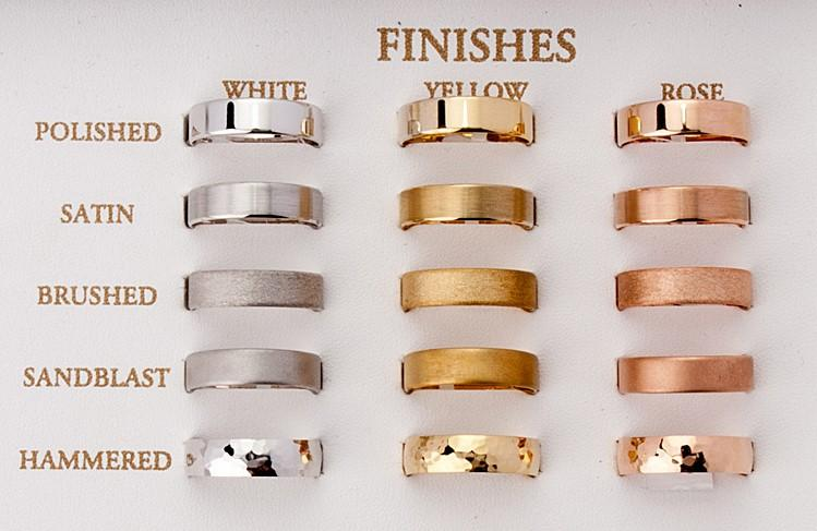 Menu0027s Yellow Gold Wedding Ring   Half Round Comfort Curve