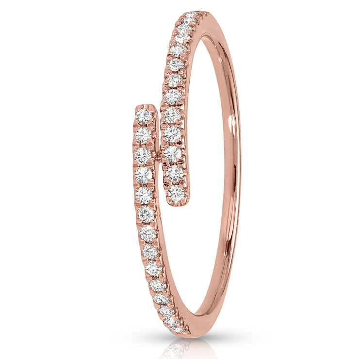 Twist Women's Diamond Ring