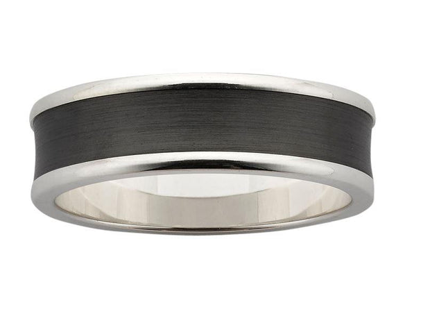 Two Tone Mens Wedding Rings online