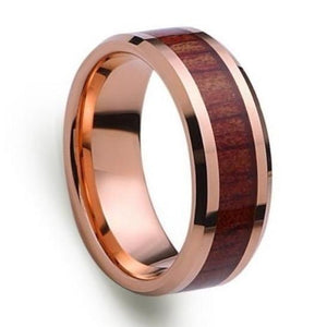 wooden mens ring