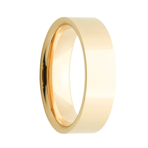 gold mens wedding ring