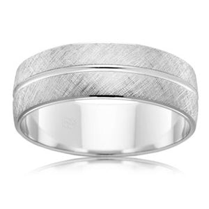 Mens Platinum Wedding Rings