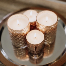 Mame Soy Candle, Rose Gold and Glass Candle
