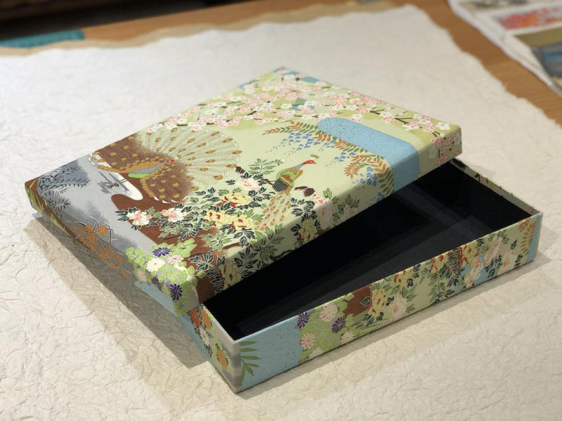 Keepsake box, Four Seasons in Paradise: Peacock