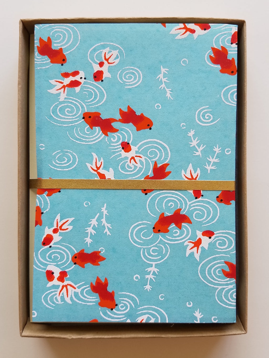 Goldfish Handmade Boxed Cards