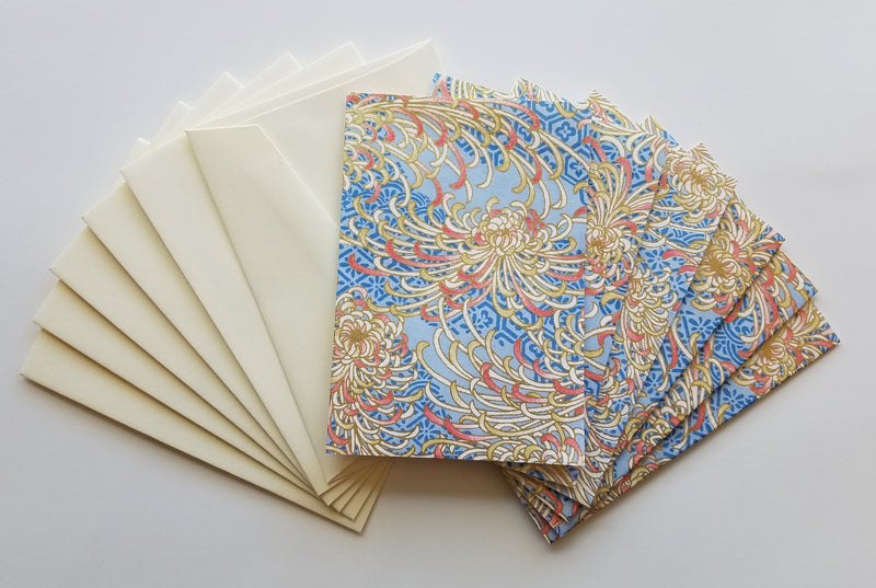Chrysanthemum Handmade Boxed Cards