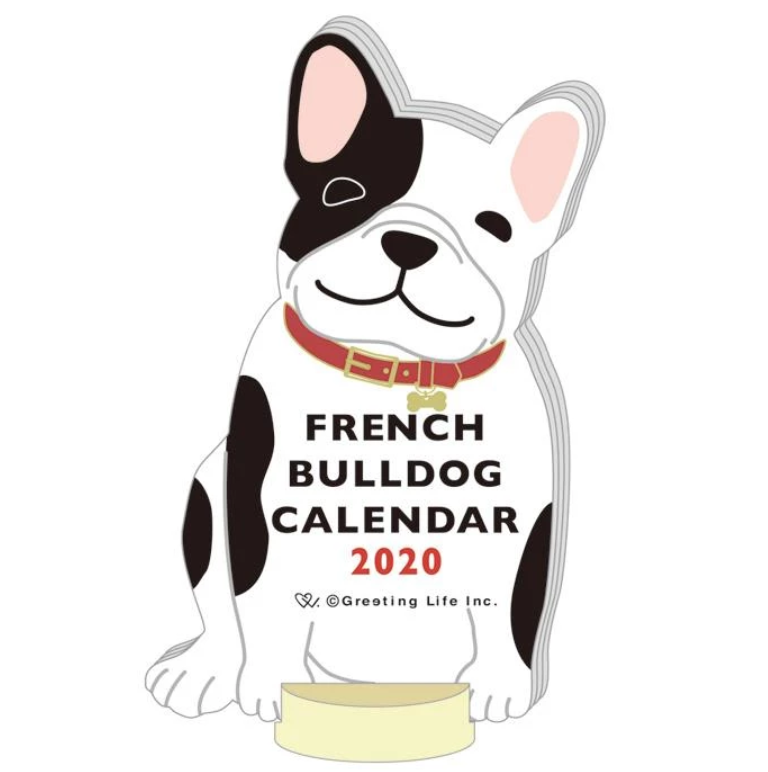 Animal Calendar - French Bulldog