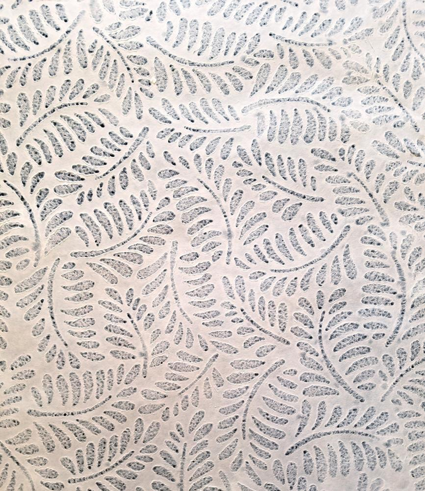 Lace Leaf White