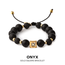 Load image into Gallery viewer, Onyx Mens Bracelet