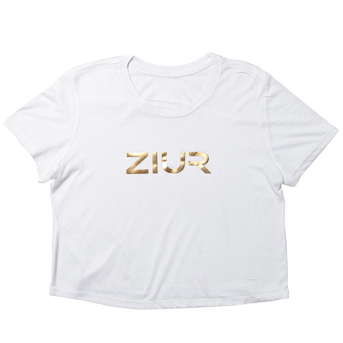 ZIUR White Crop Top