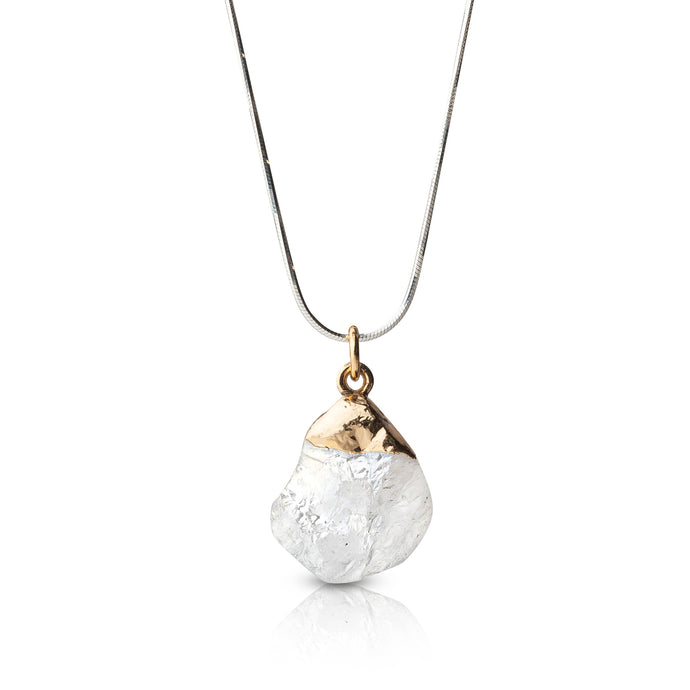 Rock Quartz Necklace