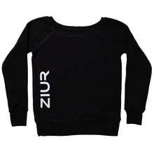 Load image into Gallery viewer, Black ZIUR Sweater