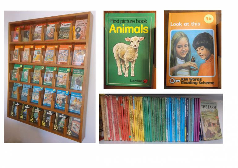 Vintage Ladybird Books Library