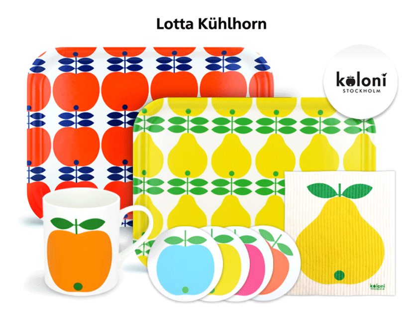 Designer Feature: Kitchen ware by Lotta Kuhlhorn of Sweden