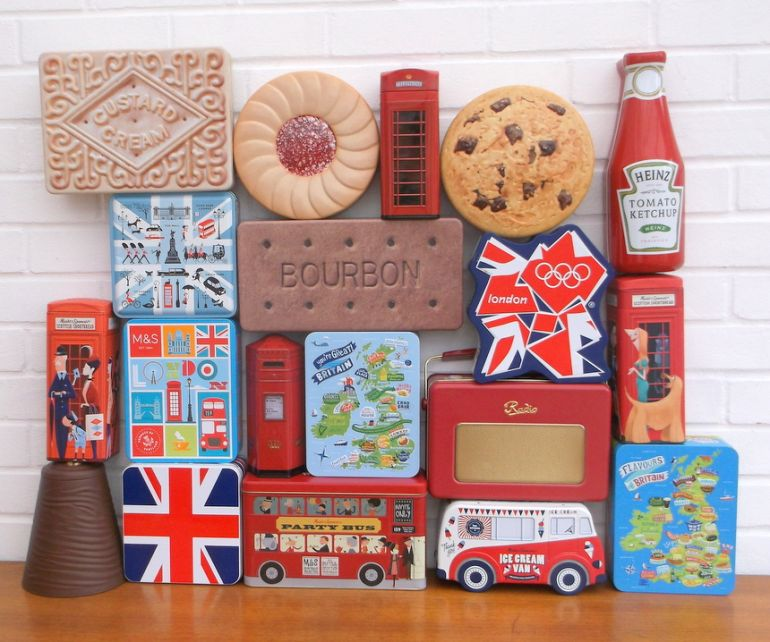 Vintage Biscuit Tins Collection
