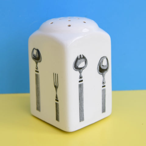 Vintage 1950s Bristol Long Line Kitchen Ware - Cutlery Design - Sugar Shaker