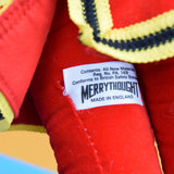 Vintage 1980s Merrythought Teddy Bear - Beefeater