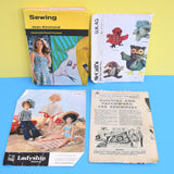 Vintage 1970s / 80s Sewing Book / Knitting / Craft Patterns
