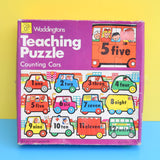 Vintage 1970s Waddingtons - Teaching Puzzle - Counting Cars