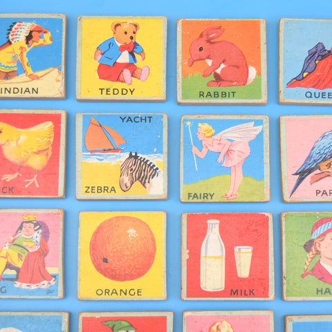 Vintage 1960s Picture Plaques - Great Illustrations - Sold Individually