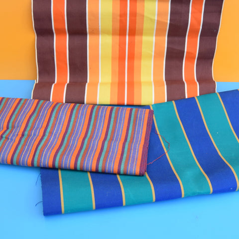 Vintage 1970s Replacement Garden Chair / Deckchair Canvas - Various