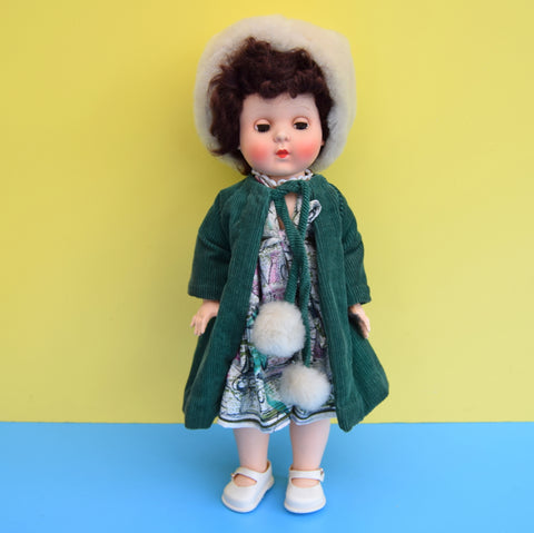 Vintage 1950s Rosebud Dolly - Dress & Coat - Boxed
