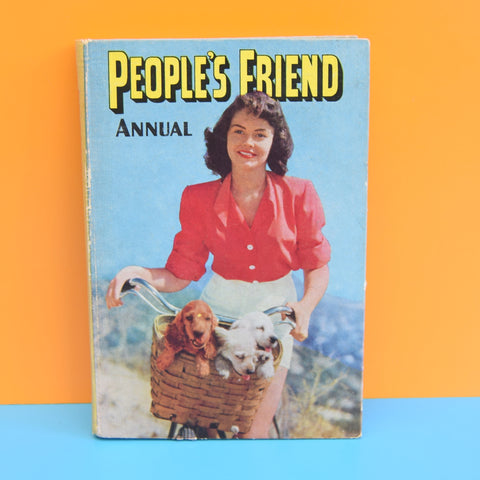 Vintage 1950s Peoples Friend Annual - Lovely Illustrations